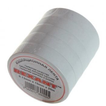 Изолента ПВХ 15ммх20 м белая