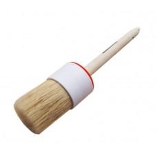 Кисть круглая №14 (50мм) натуральная щетина с деревянной ручкой