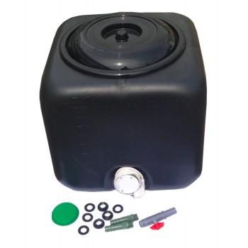 Электроводонагреватель 100л 1,5 кВт с терморегулятором (черный)