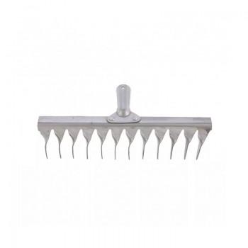 Грабли 12 зубьев витые (оцинкованная сталь)