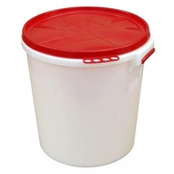Бак 32л пищевой пластмассовый с герметичной крышкой