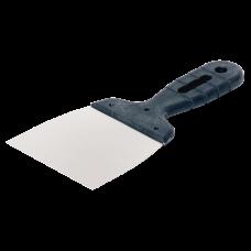Шпатель 100мм нержавеющая сталь с пластмассовой ручкой
