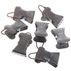 Зажим для штор металлический без кольца (продажа поштучно)
