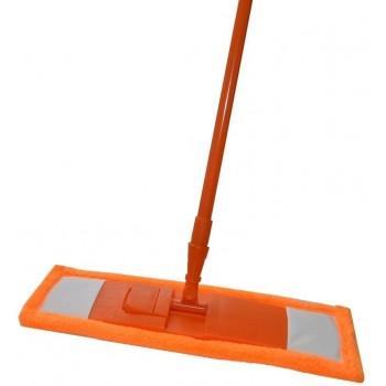 Швабра Pavera плоская (оранжевая, микрофибра) (Р033CА)