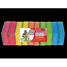 Губки для мытья посуды Maxi Супер (10 шт)