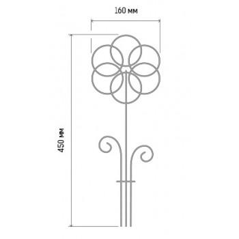Шпалера 'Ромашка' для комнатных растений d3 h45