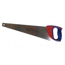 Ножовка 500мм по дереву 'Премиум santool' двухкомпонентная рукоятка,трехугловая заточка