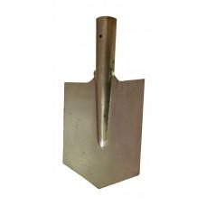 Лопата автомобильная (саперная) нержавейка без черенка