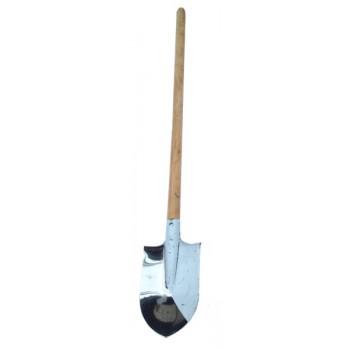 Лопата автомобильная (саперная) нержавейка с удлиненной ручкой