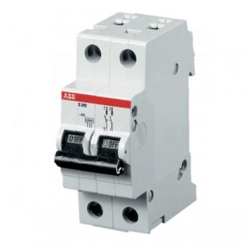 Автоматический выключатель модель 2п С 10А SH202L 4,5кА АВВ 2CDS242001R0104 (84595)
