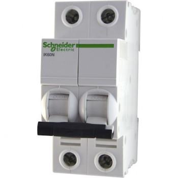 Автоматический выключатель модель 2п С 10А ВА iK60 Acti9 6Ка SchE Ф9К24210