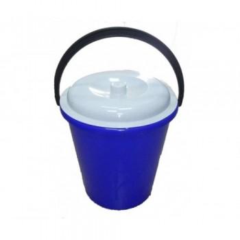 Ведро пластмассовое 5л с крышкой (пищевое)