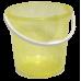 Ведро пластмассовое 7л 'Хозяюшка' пищевое (М1205)