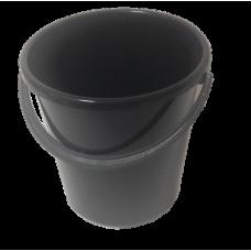 Ведро пластмассовое 8л 'Огородное' (черное)