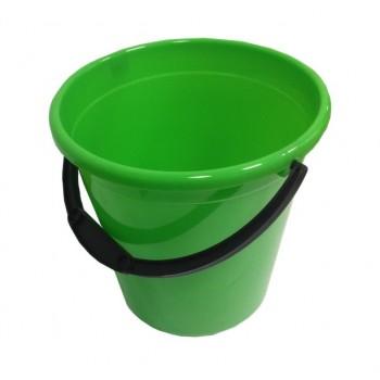 Ведро пластмассовое 12л 'Донна' (пищевое) (04012)