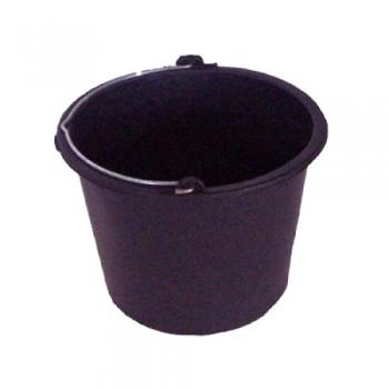 Ведро строительное 12л (резино-пластиковое)