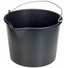 Ведро строительное 16л (резино-пластиковое)