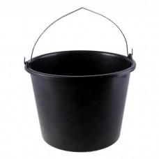 Ведро строительное 20л (резино-пластиковое)