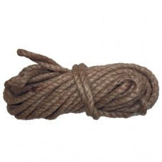 Веревка джутовая 12мм по 10м крученая