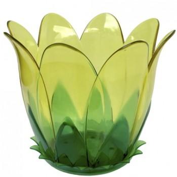 Горшок цветной 2л 'Орхидея' с поддоном