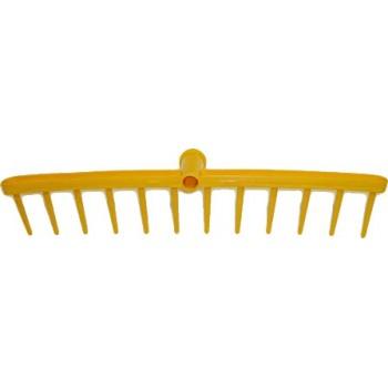 Грабли 11 зубьев пластмассовые для сена
