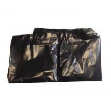 Мешки для мусора 240 л  50мкм особопрочные (ПВД)