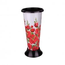 Ваза для цветов под срезку 'Розы' М2630