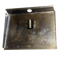 Движок трехбортный 500ммх375мм алюминиевый с накладкой