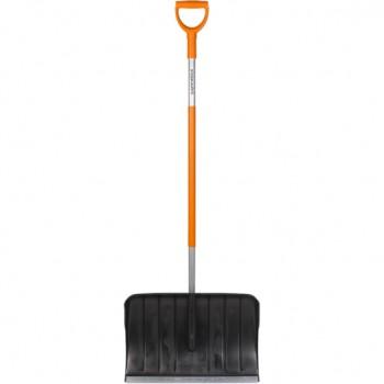 Лопата FISKARS снегоуборочная (скреппер, алюминиевый черенок) 1550ммх500мм (143001)