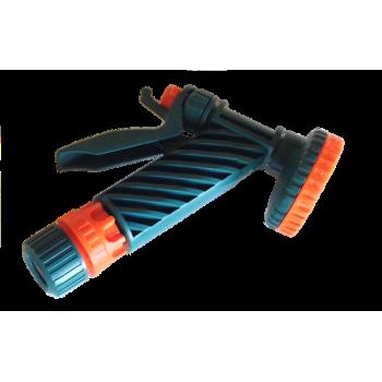 Пистолет-душ 1/2' цанговое крепление с фиксатором 5-ти функциональный