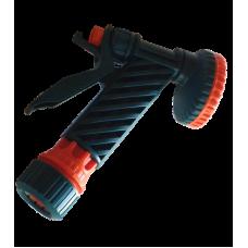 Пистолет-душ 3/4' цанговое крепление с фиксатором 5-ти функциональный