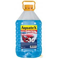 Жидкость незамерзающая для автостеклоочистителей AquateX 5л оранжевая крышка
