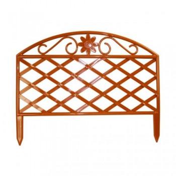 Забор декоративный L:45см H:36см (6 секции) 'Решетка' (М375)