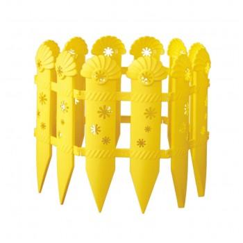 Забор декоративный 240см*14см (4 секции) 'Ромашки' (М503)