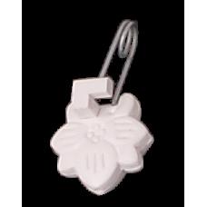 Зажим для штор пластмассовый 'Ромашка' (100шт/уп) Богд