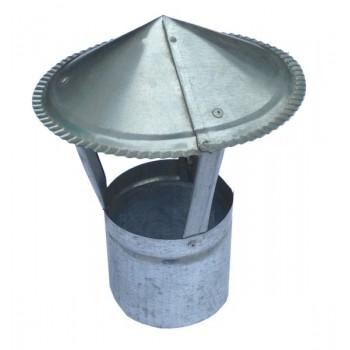 Зонт на трубу d:110 оцинкованный
