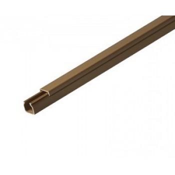 Кабель-канал 30ммх25мм коричневый Рувинил (2 м) 1шт=2м 59522