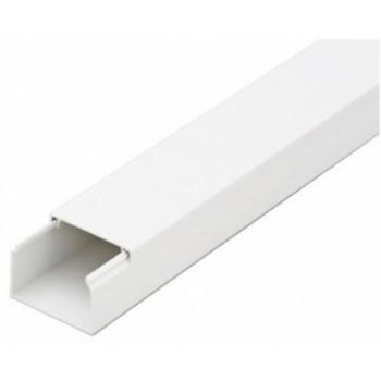 Кабель-канал 40ммх25мм белый Рувинил (2 м) 1шт=2 м 45832