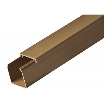 Кабель-канал 40ммх40мм коричневый Рувинил (2 м) 1шт=2 м 97782