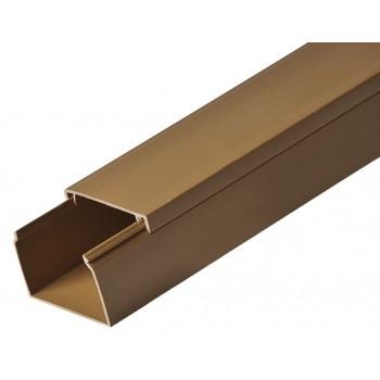 Кабель-канал 60ммх40мм коричневый Рувинил (2 м) 1шт=2 м 97783