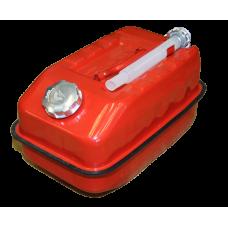 Канистра 10л металлическая крашеная со сливным устройством