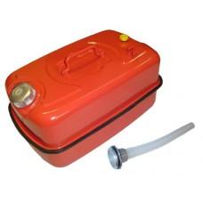 Канистра 20л металлическая крашеная со сливным устройством
