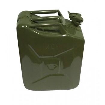Канистра 20л металлическая крашеная КС-20