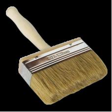 Кисть - макловица 120ммх30мм натуральная щетина с деревянной ручкой