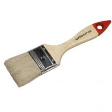 Кисть плоская 2' натуральная щетина, деревянная ручка