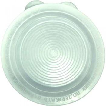 Крышка полиэтиленовая для закрывания банки холодная d:82