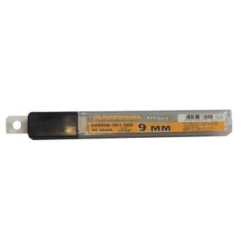 Лезвия запасные к ножам 9 мм (10 шт.в упаковке) (МЛ)