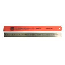 Линейка металлическая 0,3 м (К)