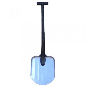 Лопата автомобильная зимняя алюминиевая с пластмассовой ручкой №21