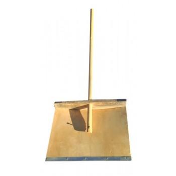Лопата снегоуборочная 500ммх380мм деревянная